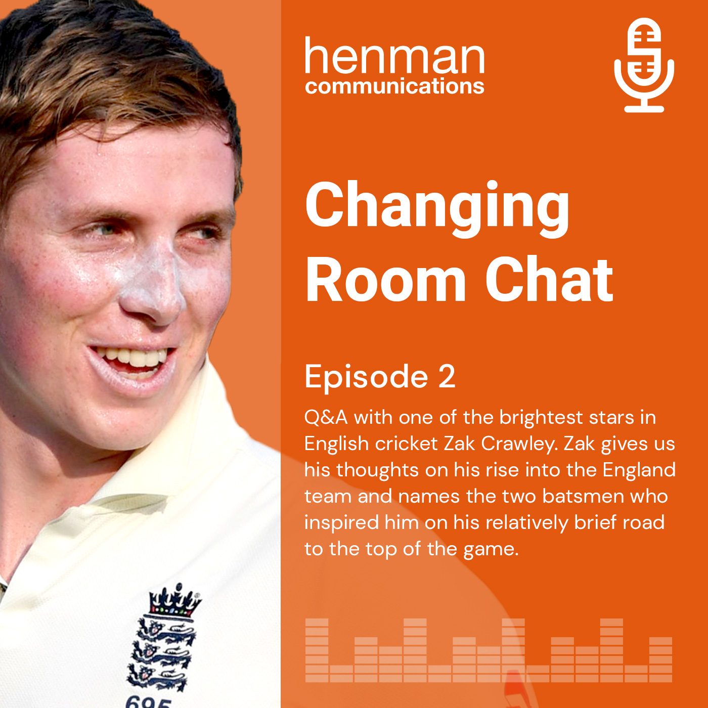 Episode 2: Q&A with one of the brightest stars in English cricket Zak Crawley.