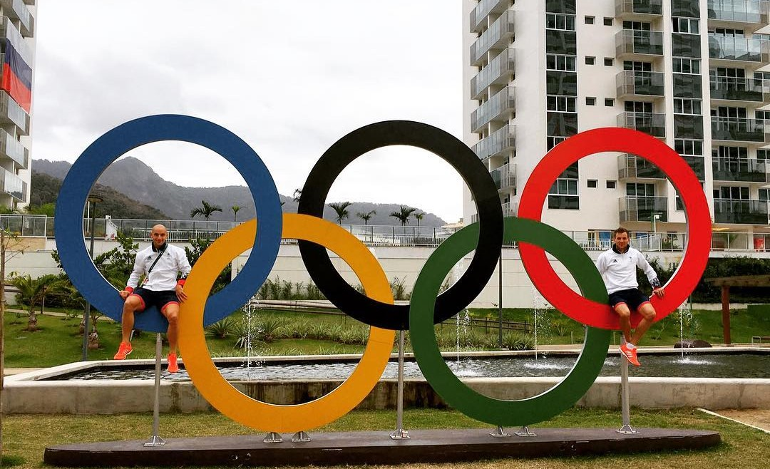 Nick Catlin - Olympic rings